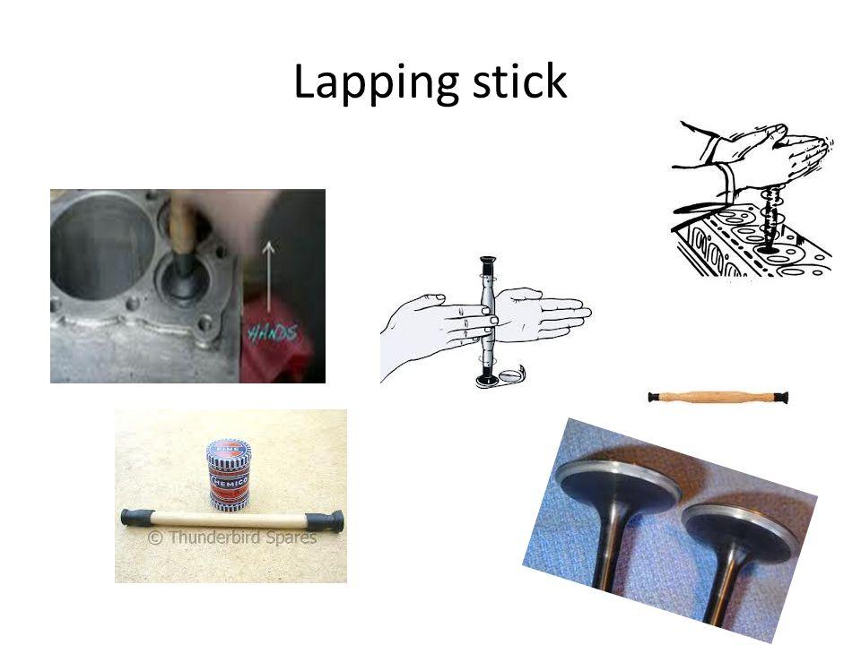 Lapping stick
