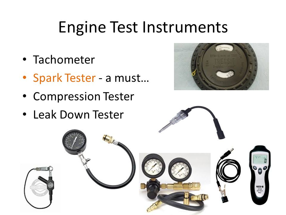 Engine Test Instruments