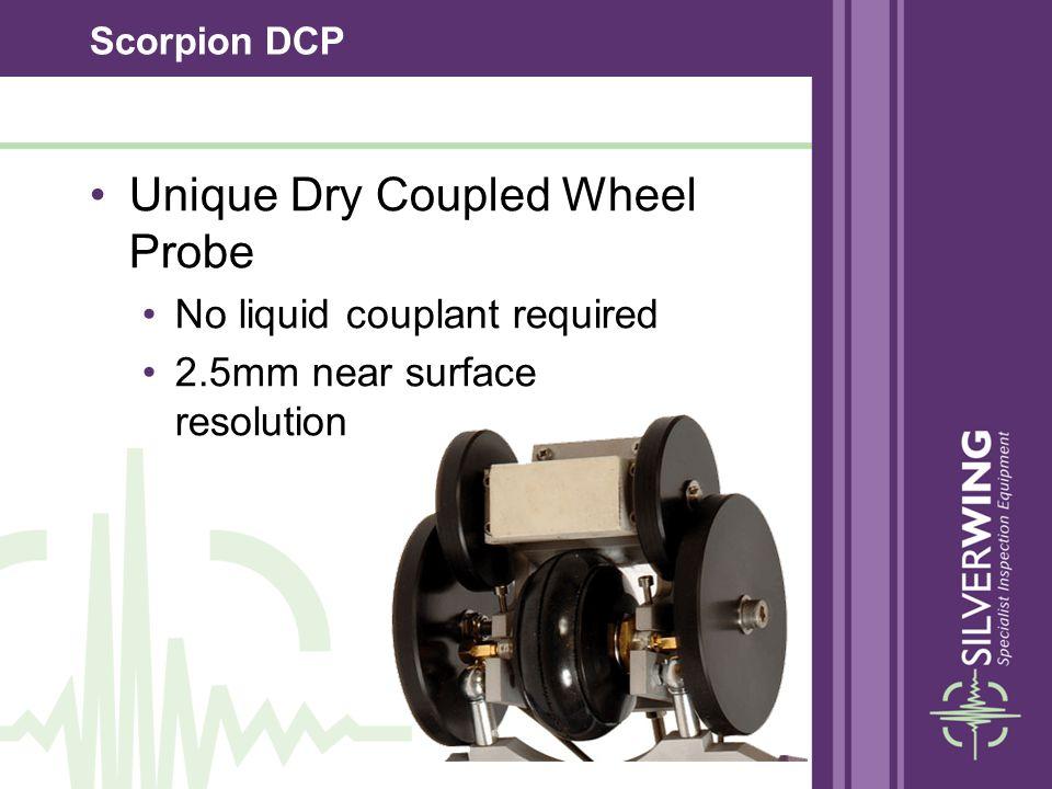 Unique Dry Coupled Wheel Probe