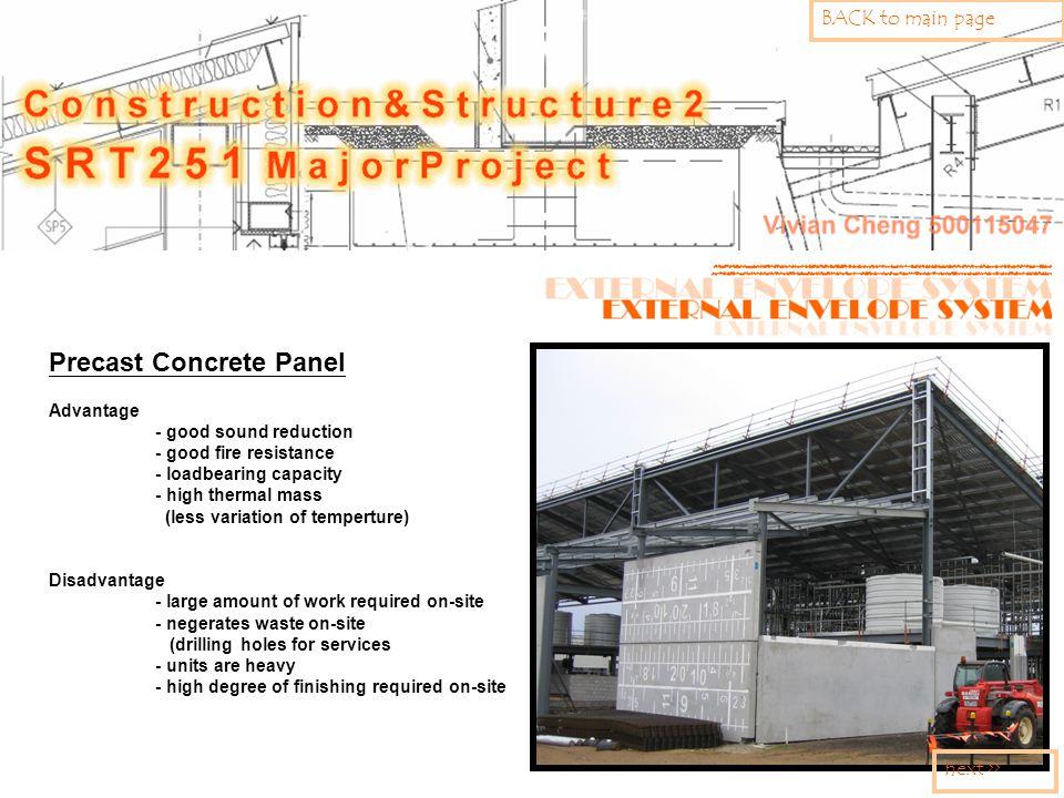 Precast Concrete Panel Advantage