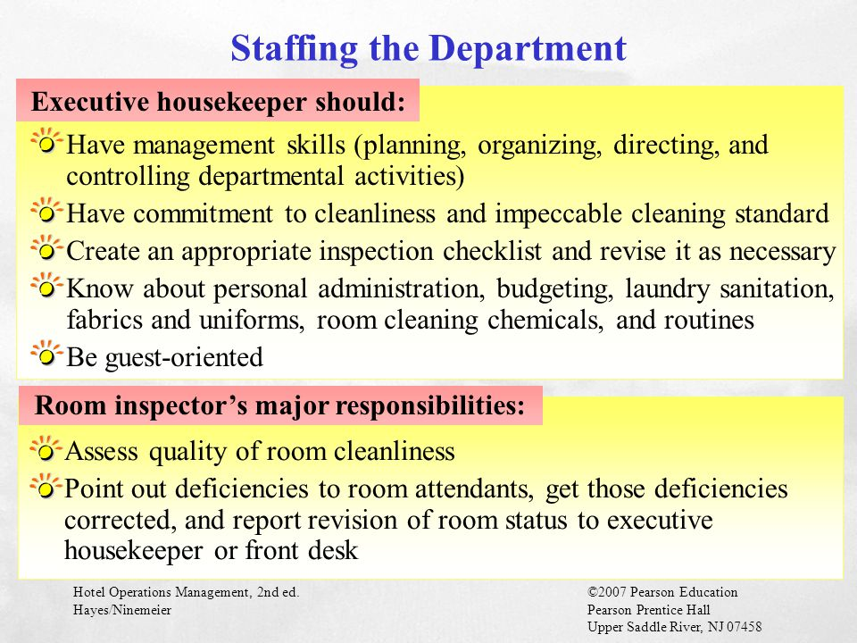 Staffing the Department