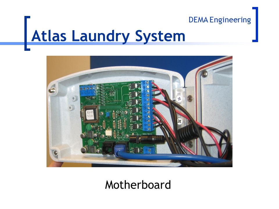 Atlas Laundry System DEMA Engineering Motherboard