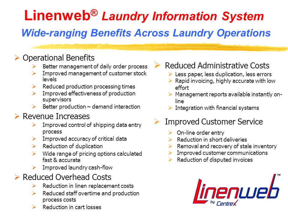 Linenweb Technology and Services Overview