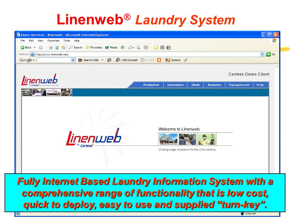 Linenweb Laundry System