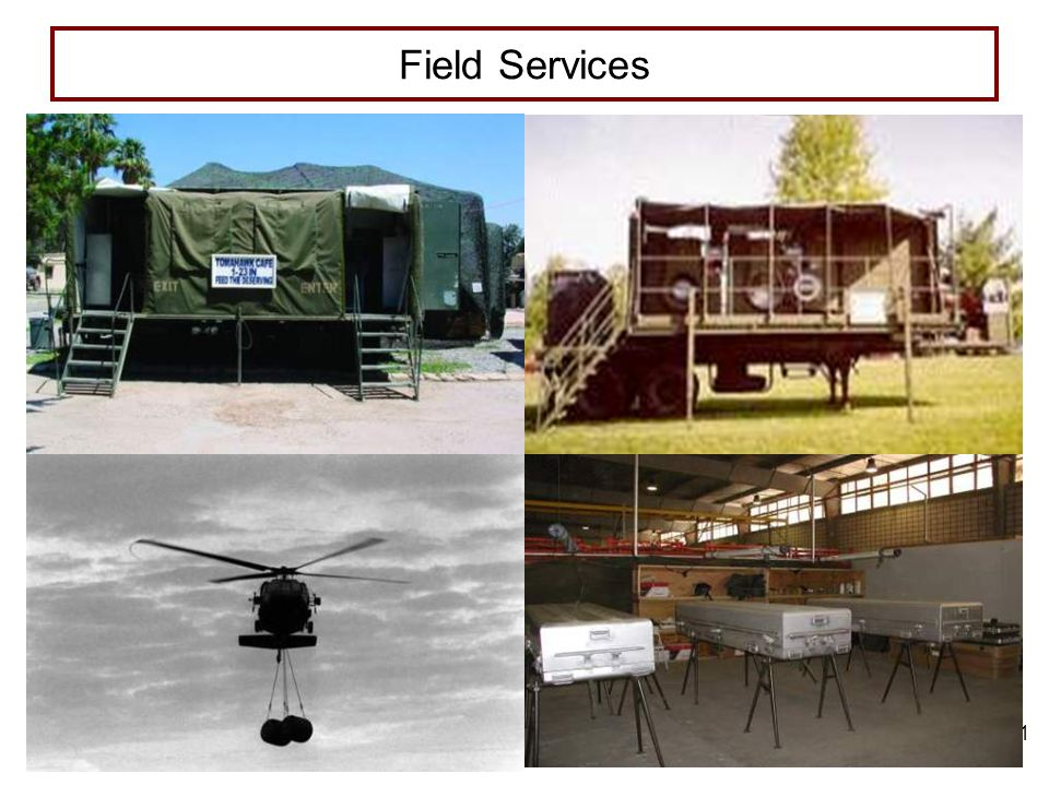 4/13/2017 7:54 PM FIELD SERVICES Field Services