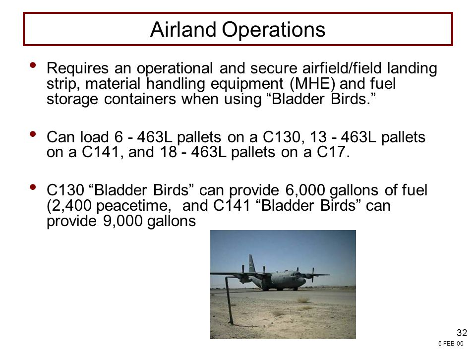 4/13/2017 7:54 PM FIELD SERVICES. Airland Operations.