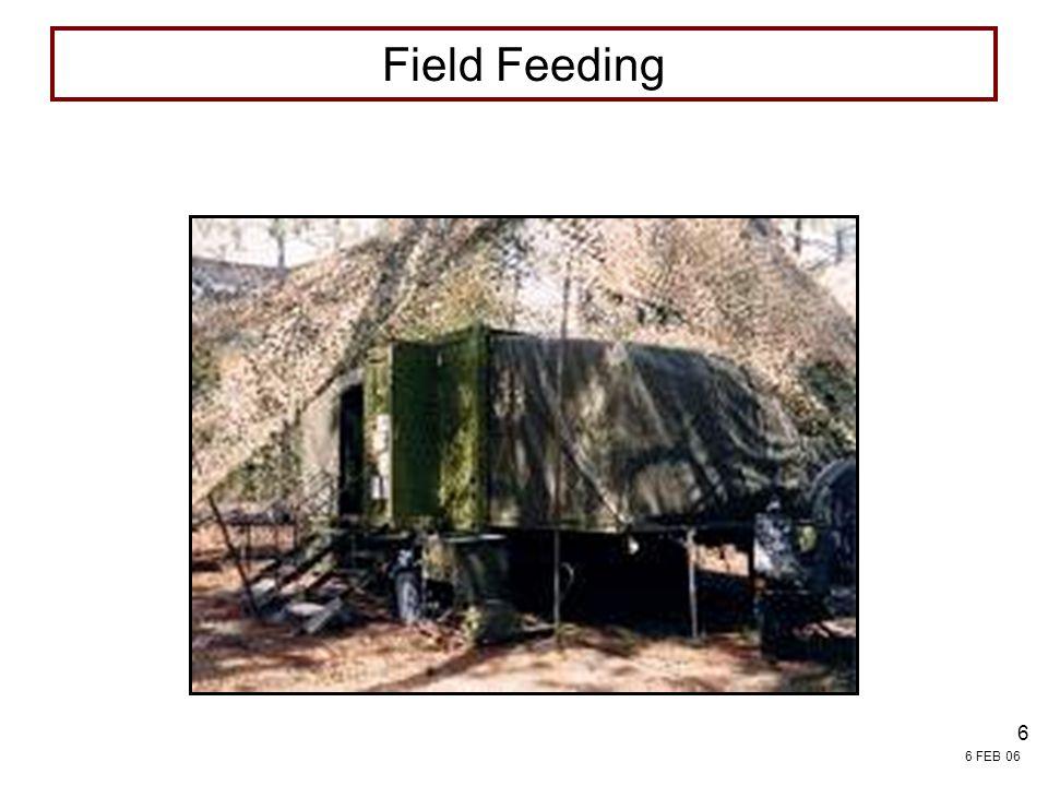 4/13/2017 7:54 PM FIELD SERVICES Field Feeding