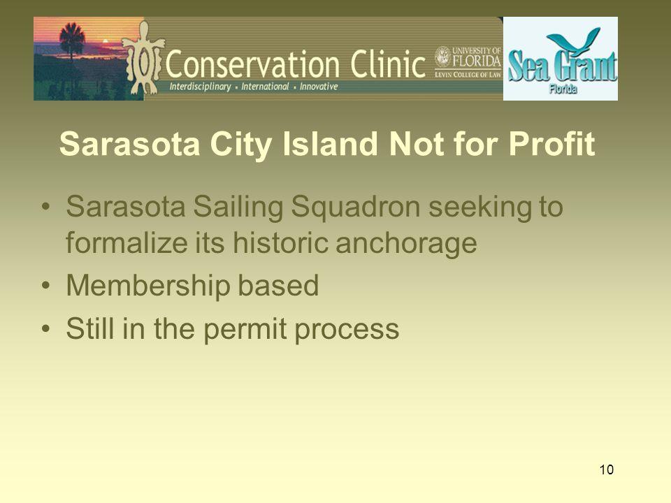 Sarasota City Island Not for Profit