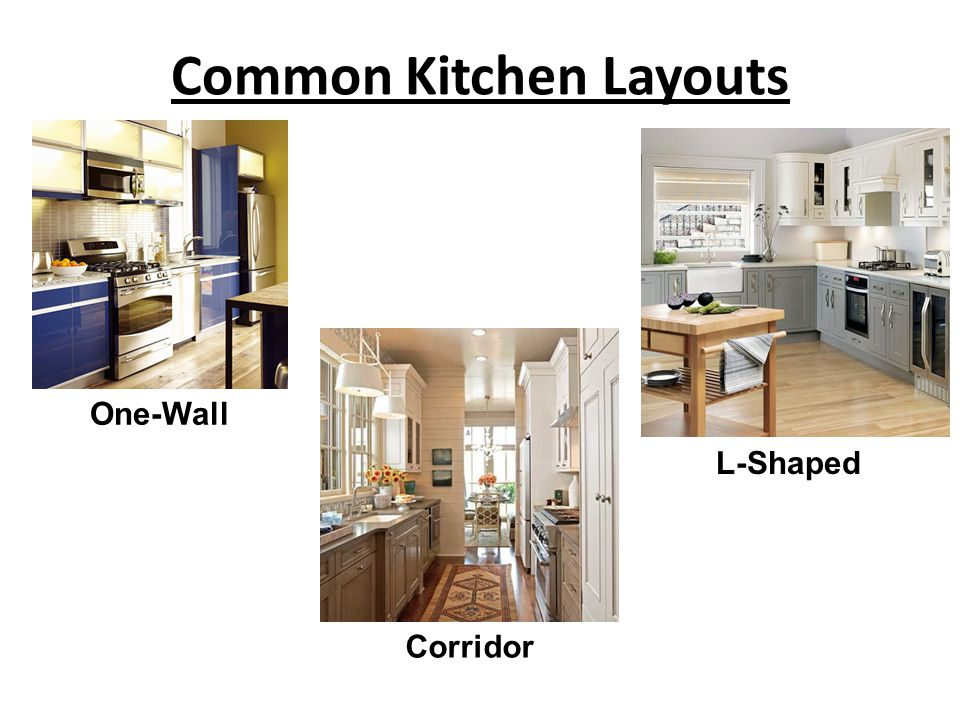 Common Kitchen Layouts