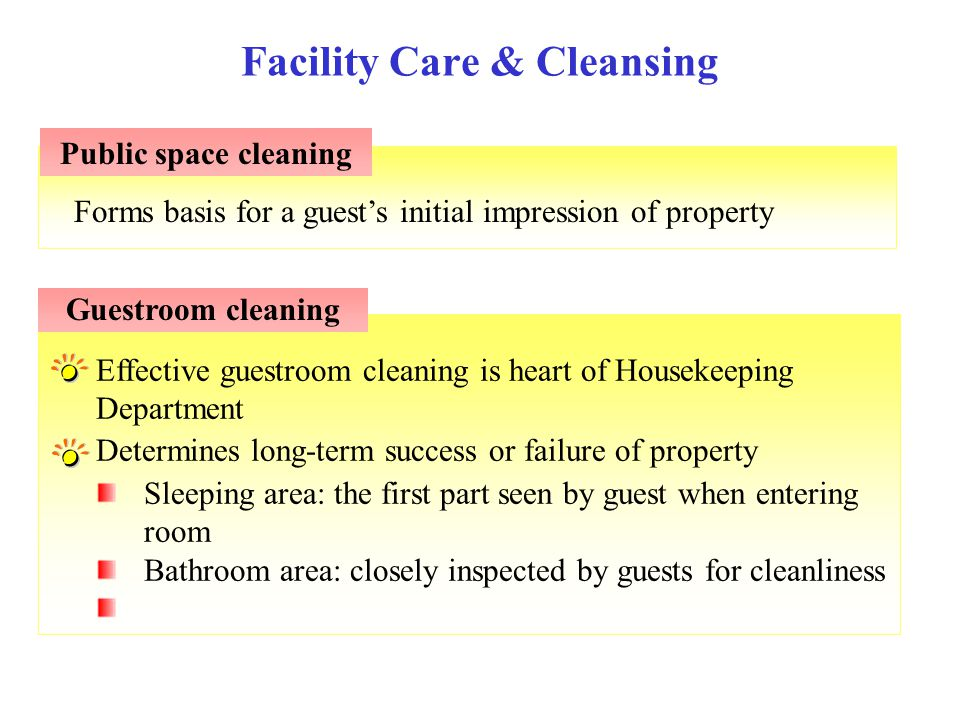 Facility Care & Cleansing