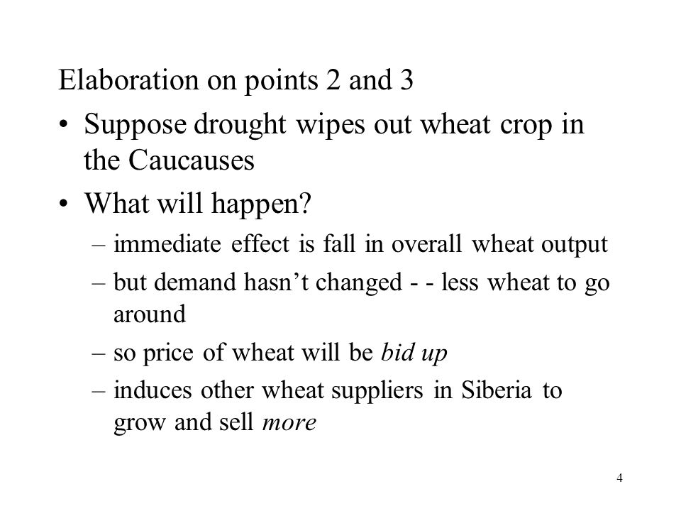 Elaboration on points 2 and 3