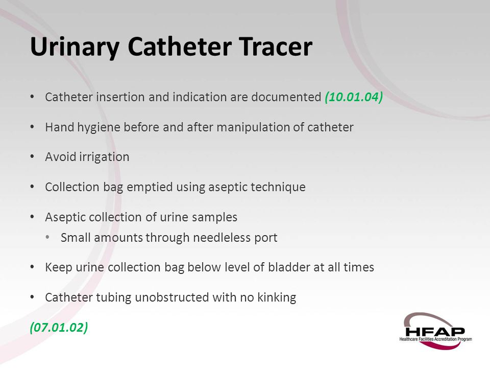 Urinary Catheter Tracer