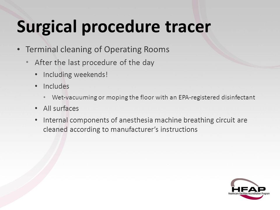 Surgical procedure tracer