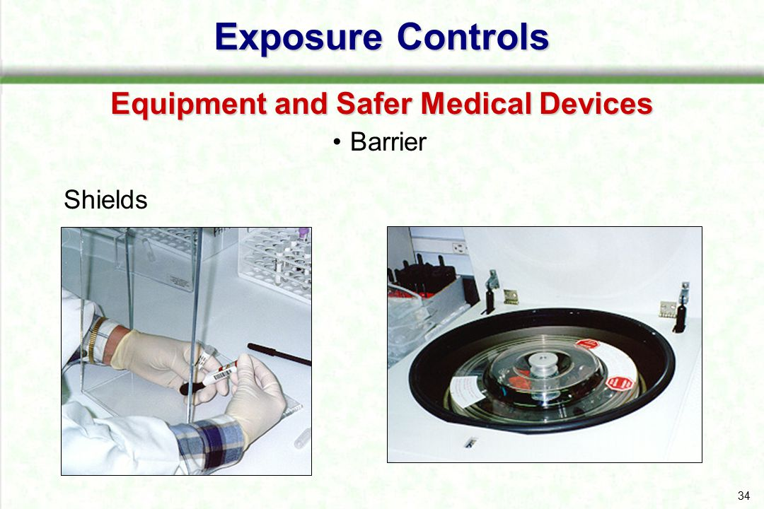 Equipment and Safer Medical Devices