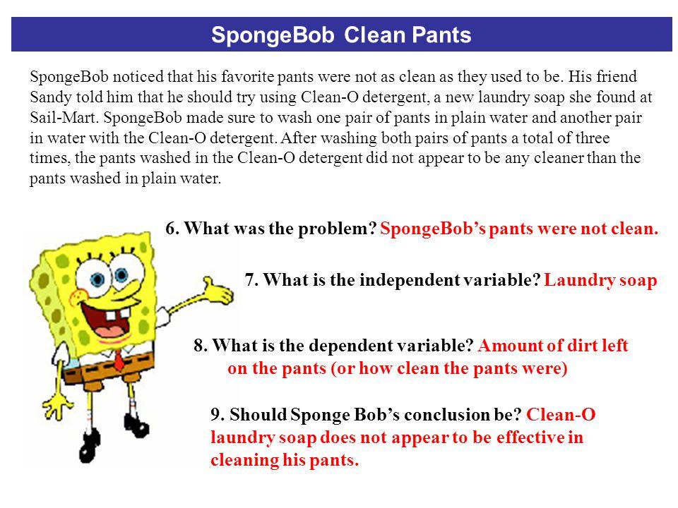SpongeBob Clean Pants