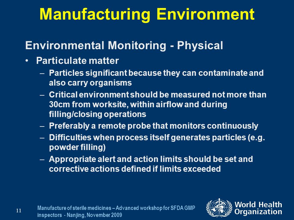 Manufacturing Environment
