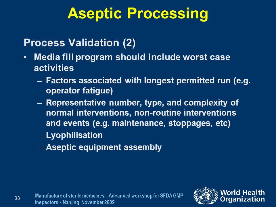 Aseptic Processing Process Validation (2)