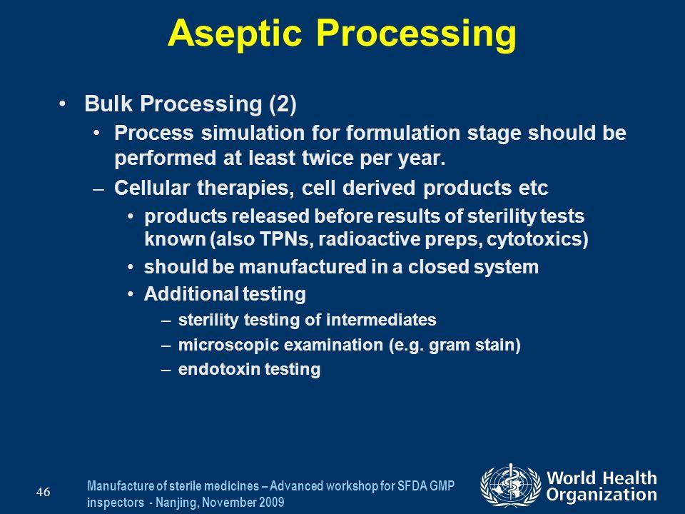 Aseptic Processing Bulk Processing (2)