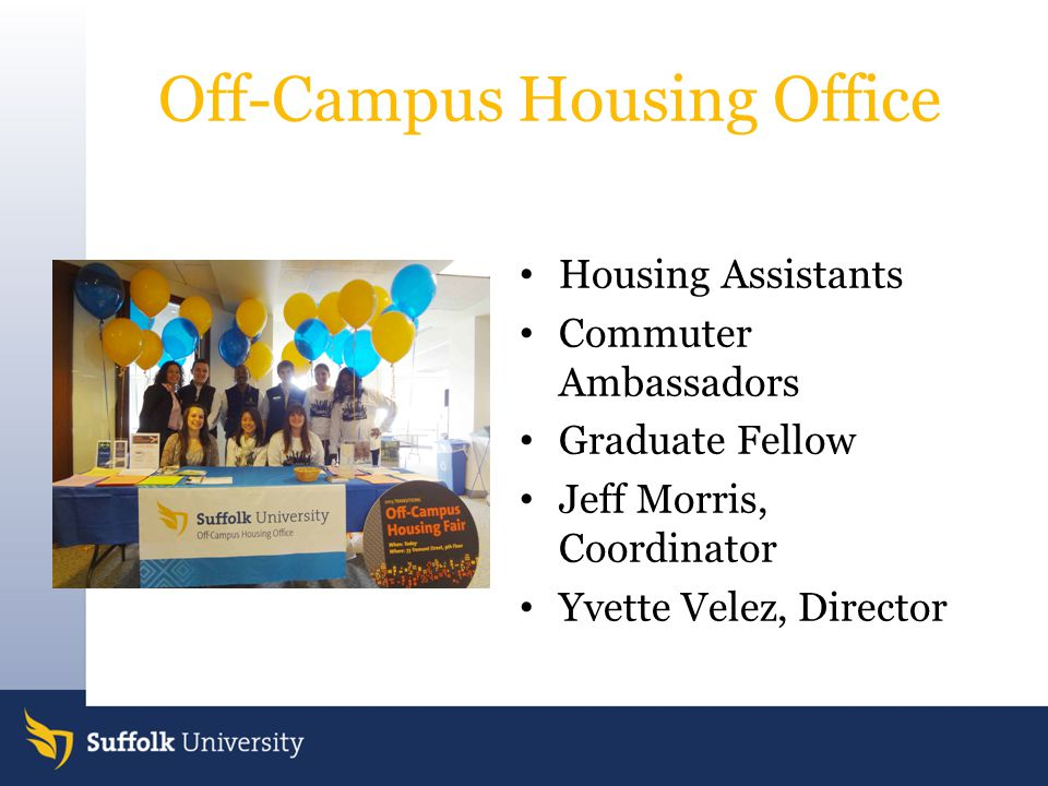Off-Campus Housing Office