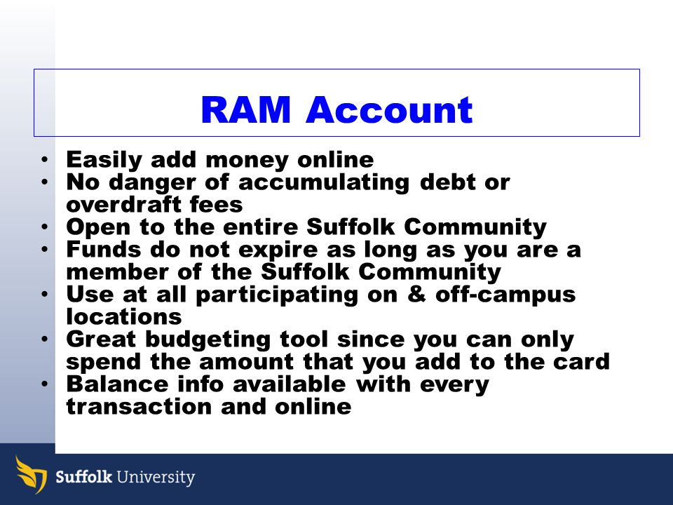 Easily add money online
