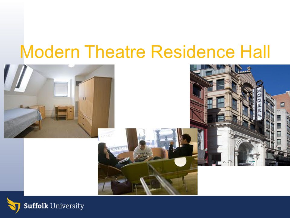 Modern Theatre Residence Hall