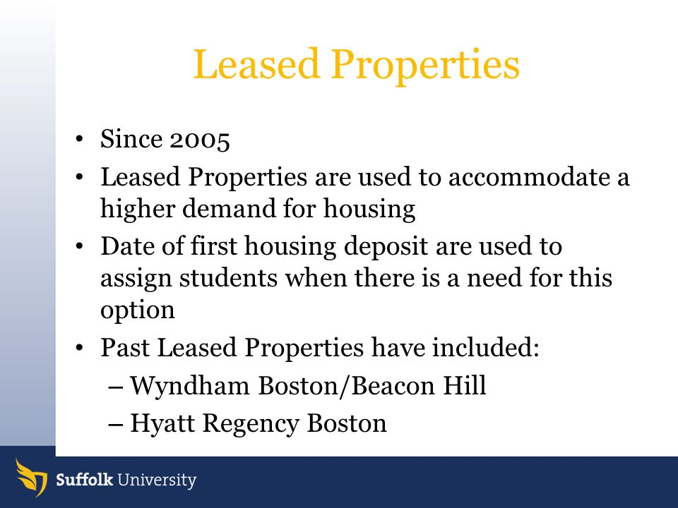 Leased Properties Since 2005
