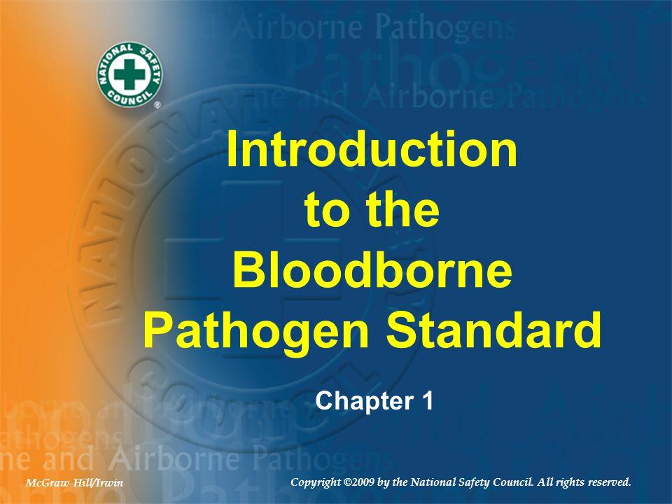 Introduction to the Bloodborne Pathogen Standard