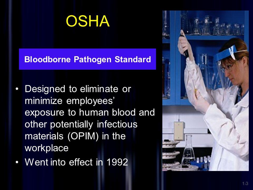 Bloodborne Pathogen Standard