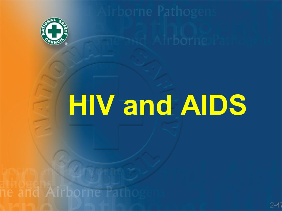 HIV and AIDS 2-47