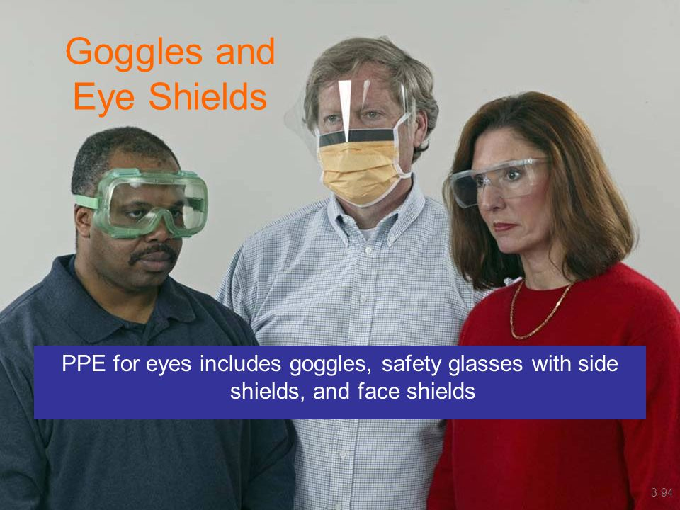 Goggles and Eye Shields