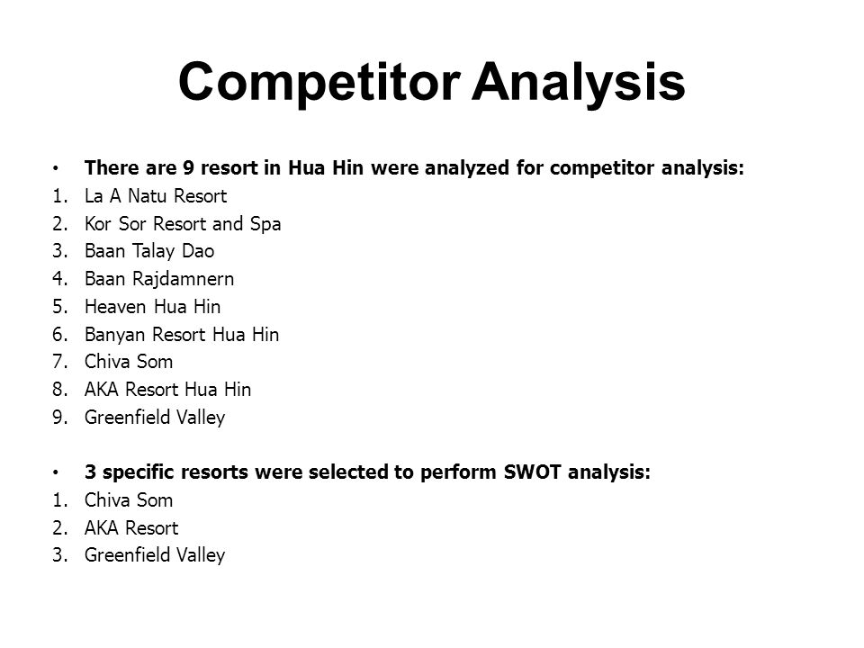 star tour swot analyse