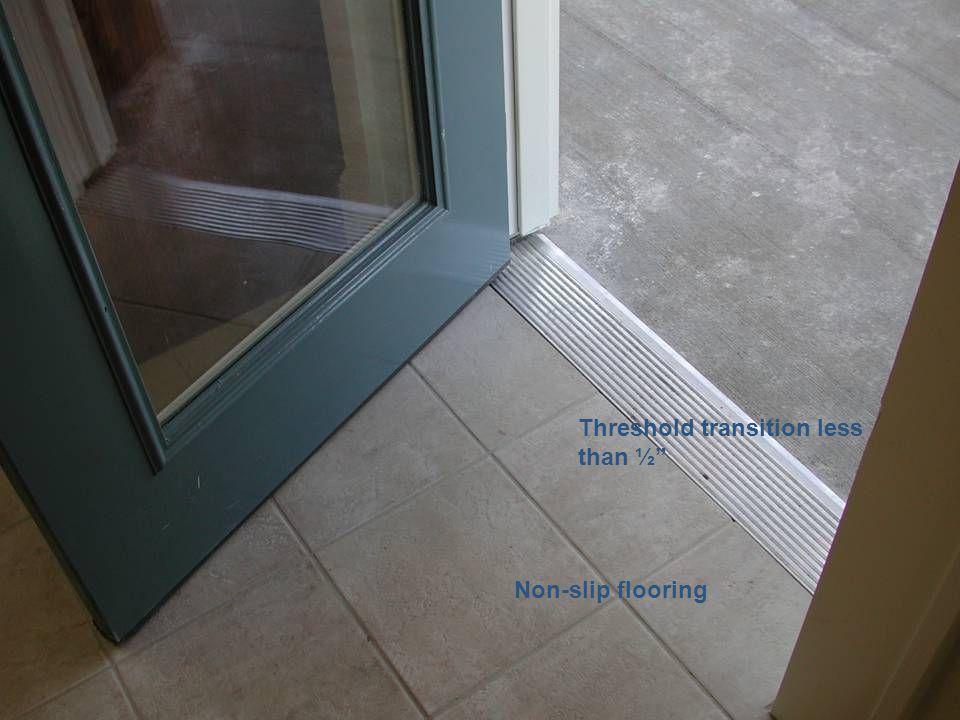 Threshold transition less than ½