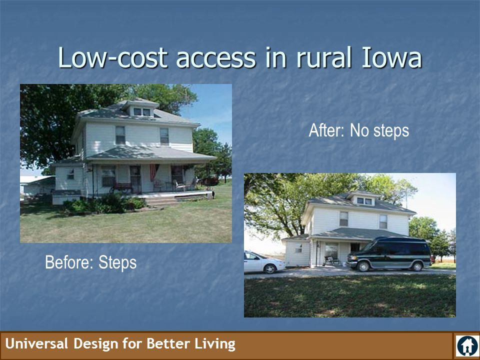 Low-cost access in rural Iowa