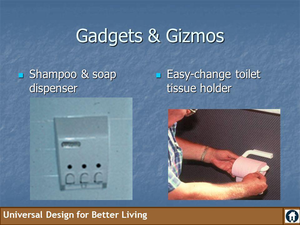 Gadgets & Gizmos Shampoo & soap dispenser