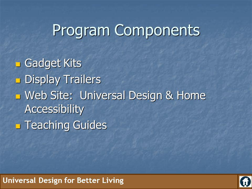 Program Components Gadget Kits Display Trailers