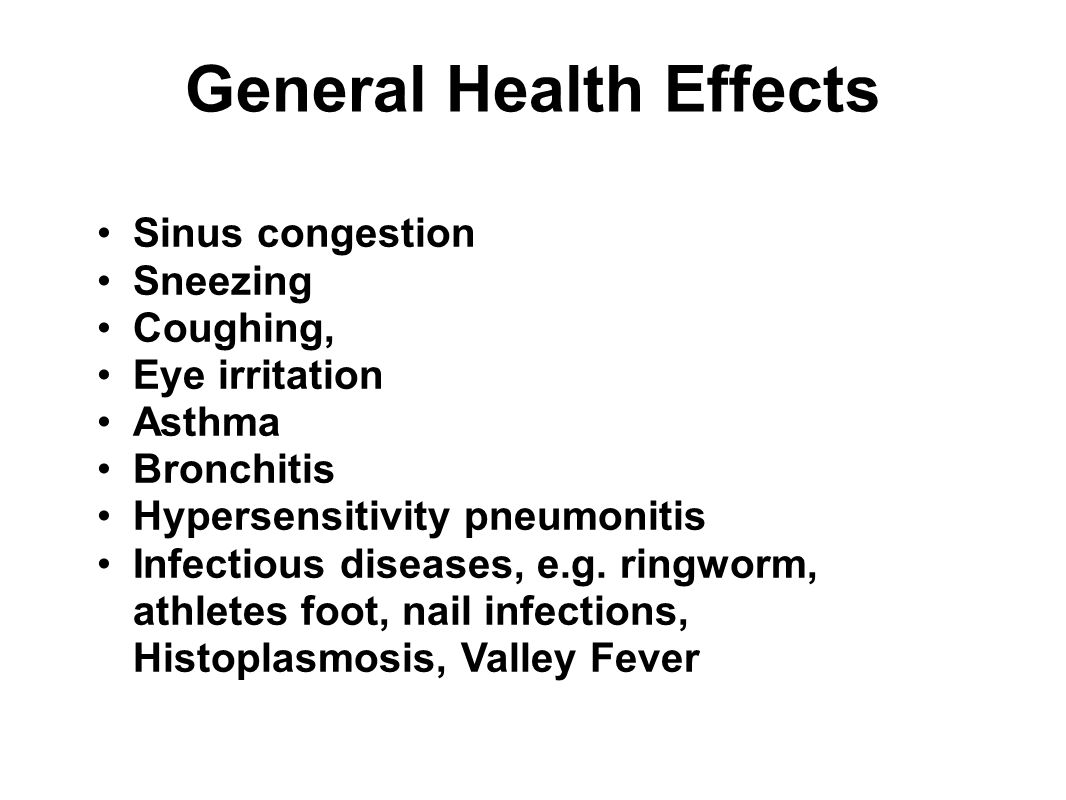 General Health Effects