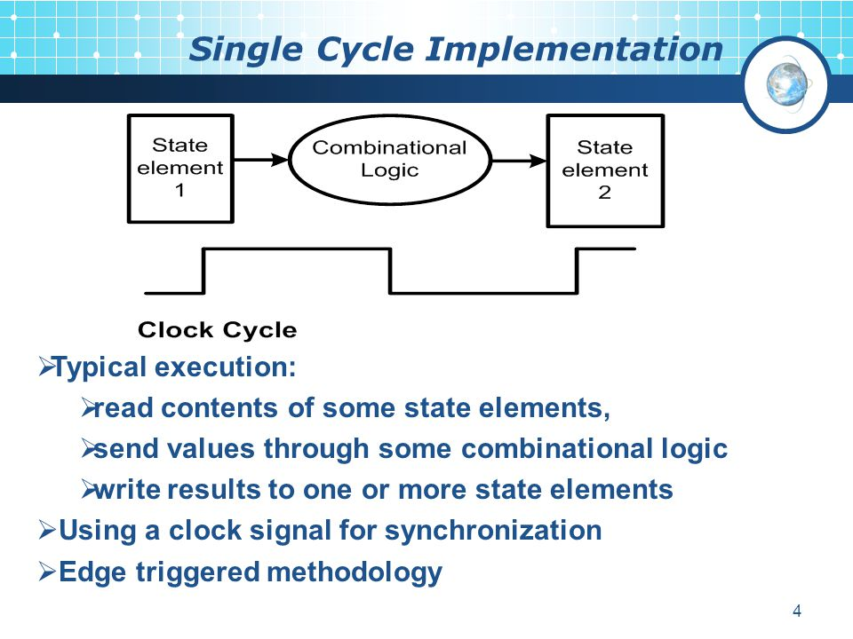 Single Cycle Implementation
