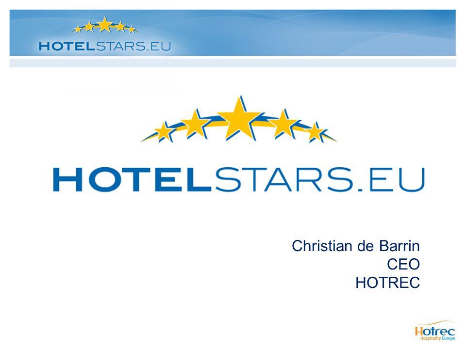 Christian de Barrin CEO HOTREC