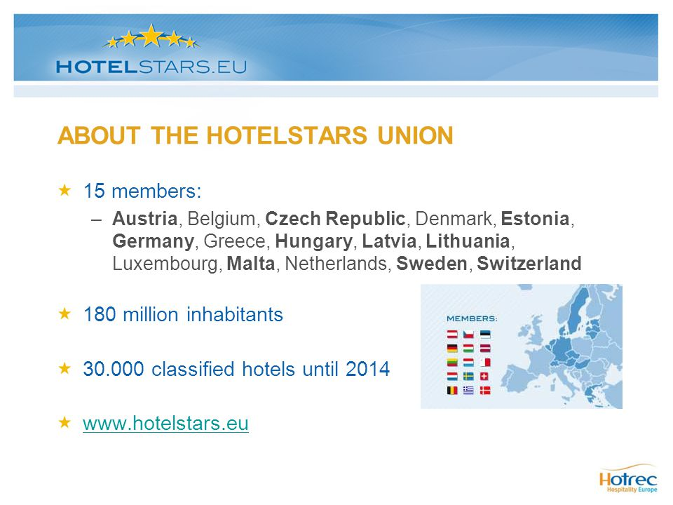 ABOUT THE HOTELSTARS UNION
