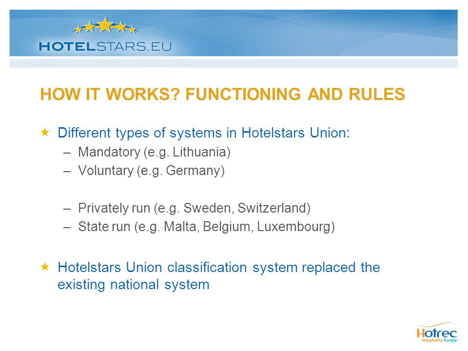 HOW IT WORKS FUNCTIONING AND RULES