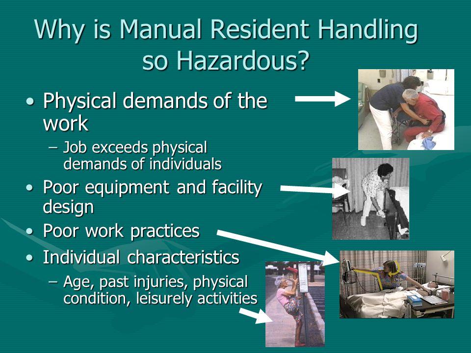 Why is Manual Resident Handling so Hazardous