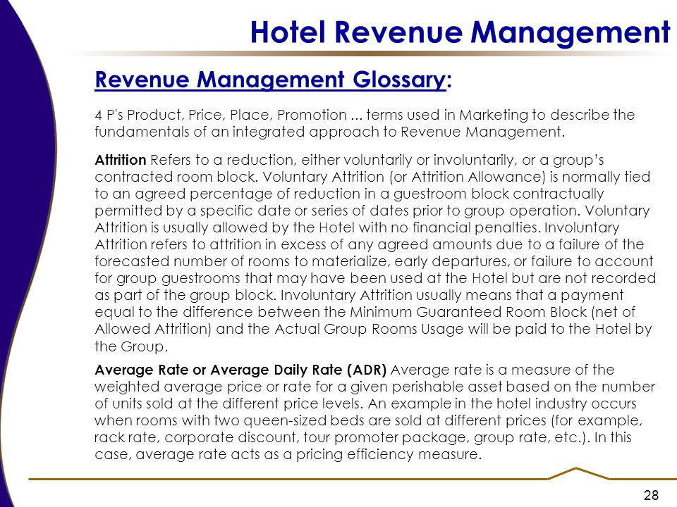 Hotel Revenue Management