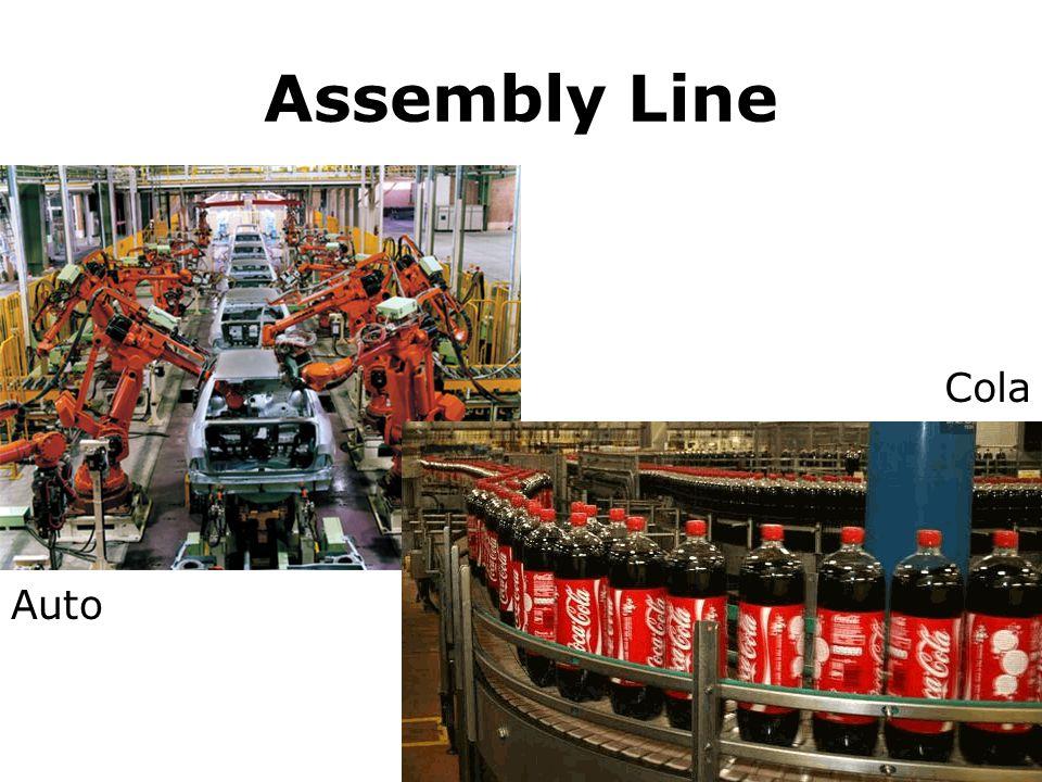 Assembly Line Cola Auto
