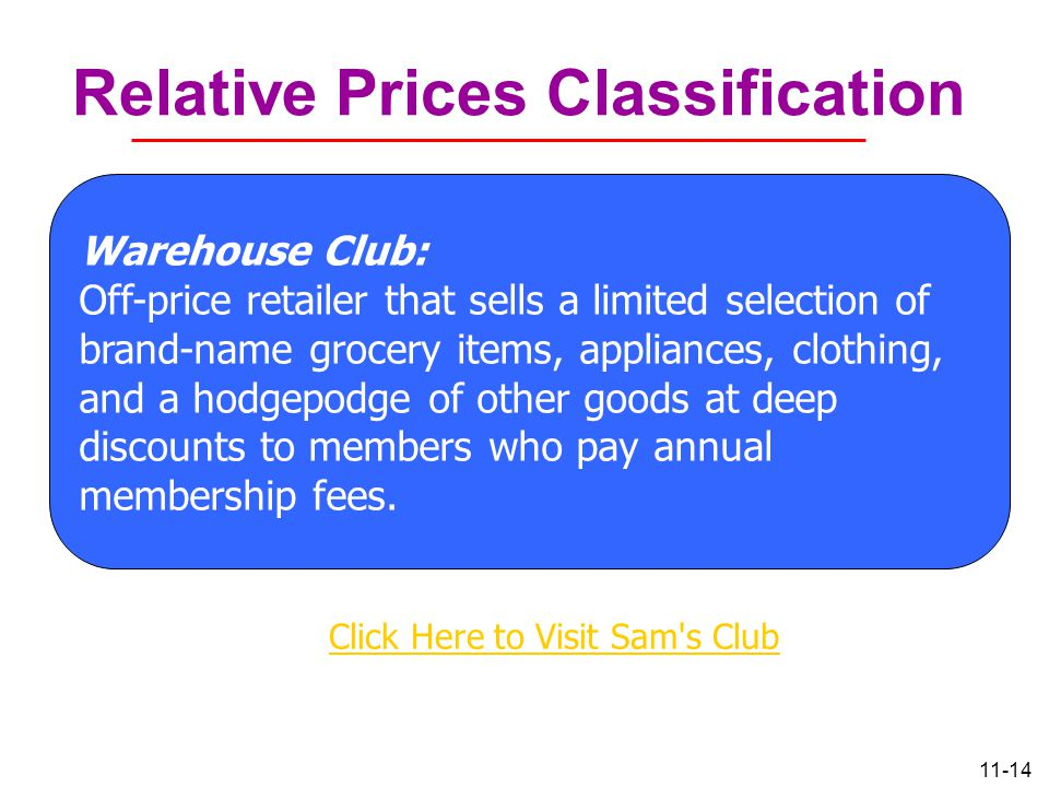 Relative Prices Classification