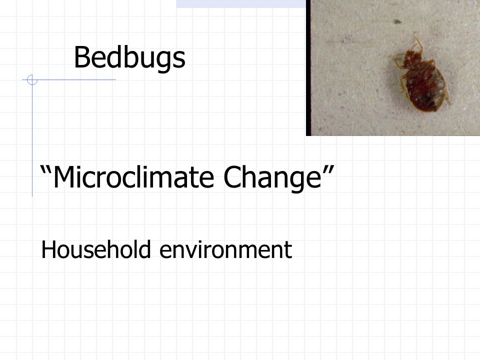 Microclimate Change
