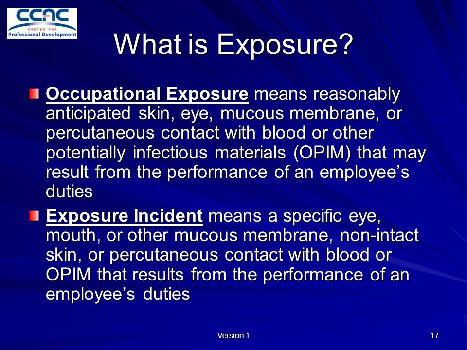 What is Exposure