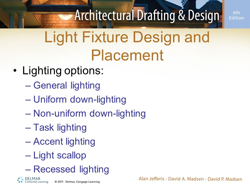 Light Fixture Design and Placement