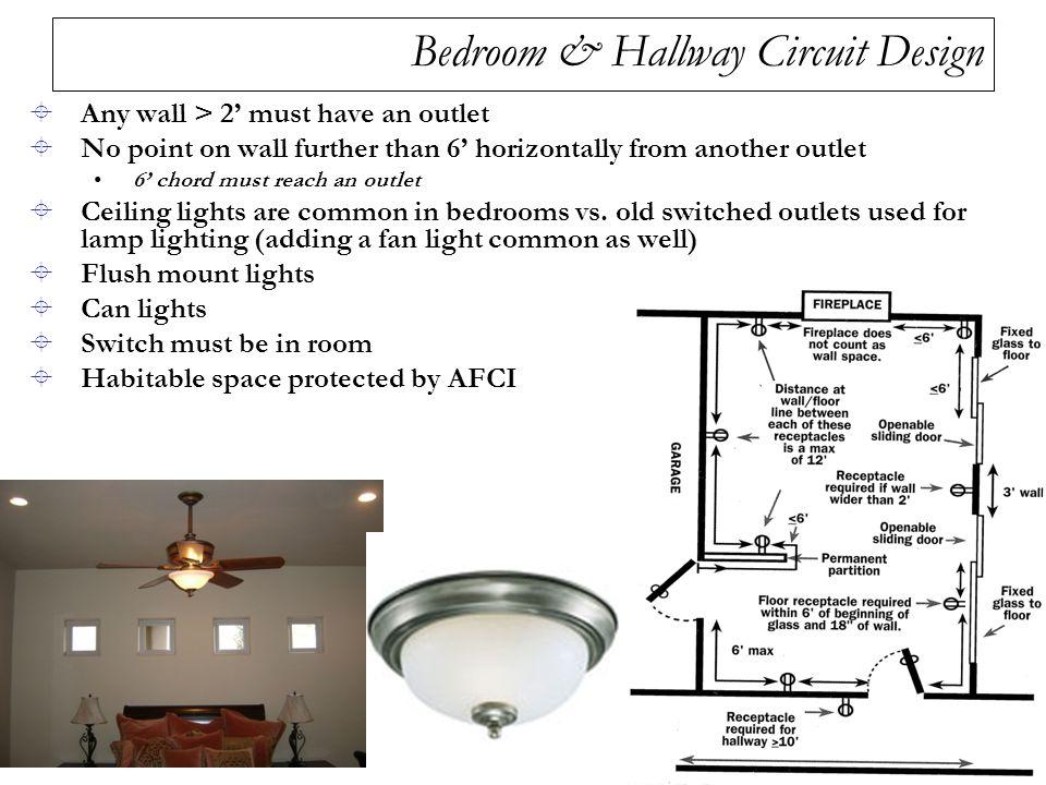Bedroom & Hallway Circuit Design