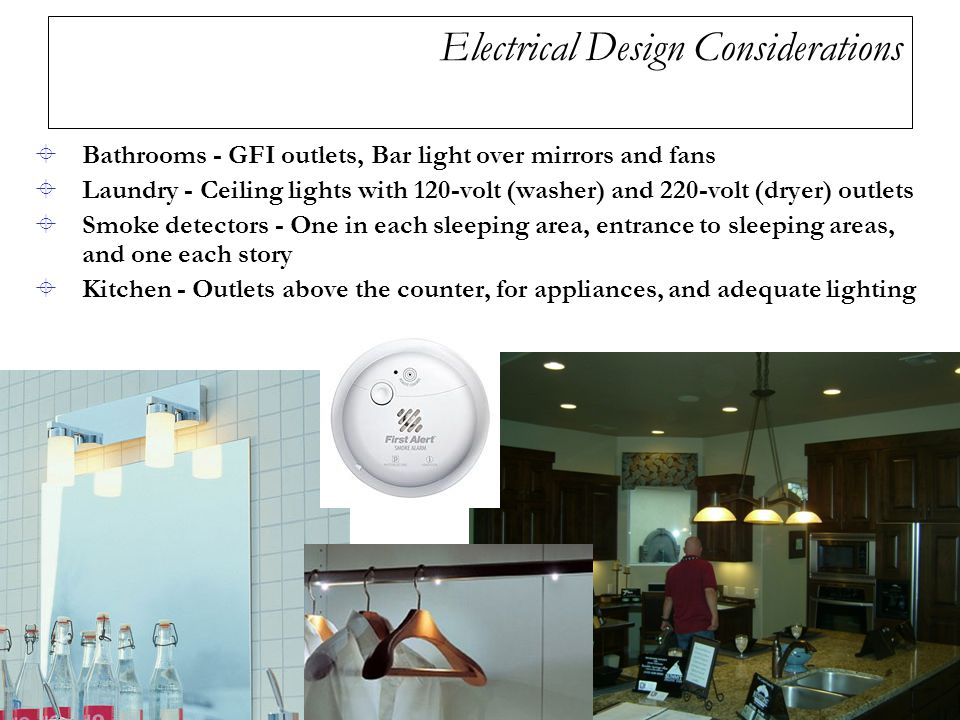 Chapter 19 electrical plans ppt video online download for Apartment design considerations