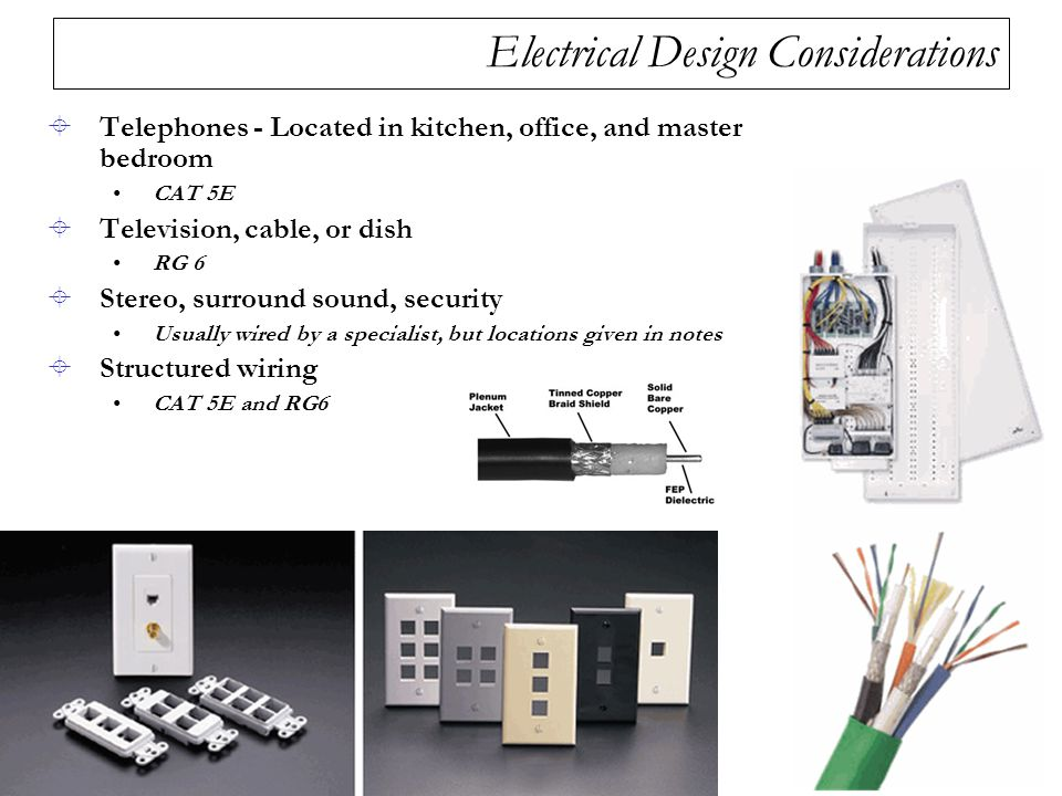 Electrical Design Considerations